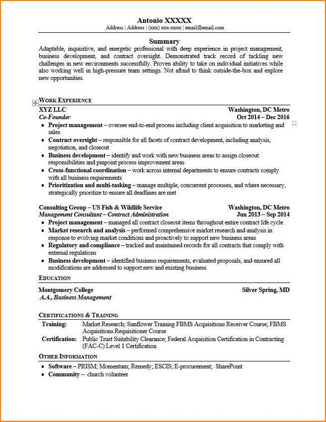 Including Your Startup or Business on a Resume (Examples Included ...