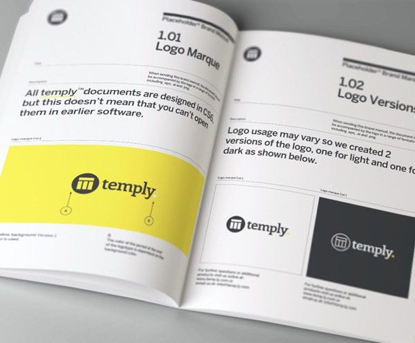 Brand Manual Template — Temply