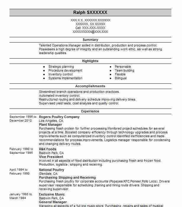 Building Manager Resume | Samples.csat.co