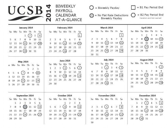 Semi Monthly Payroll Calendar * Calendar Printable Template
