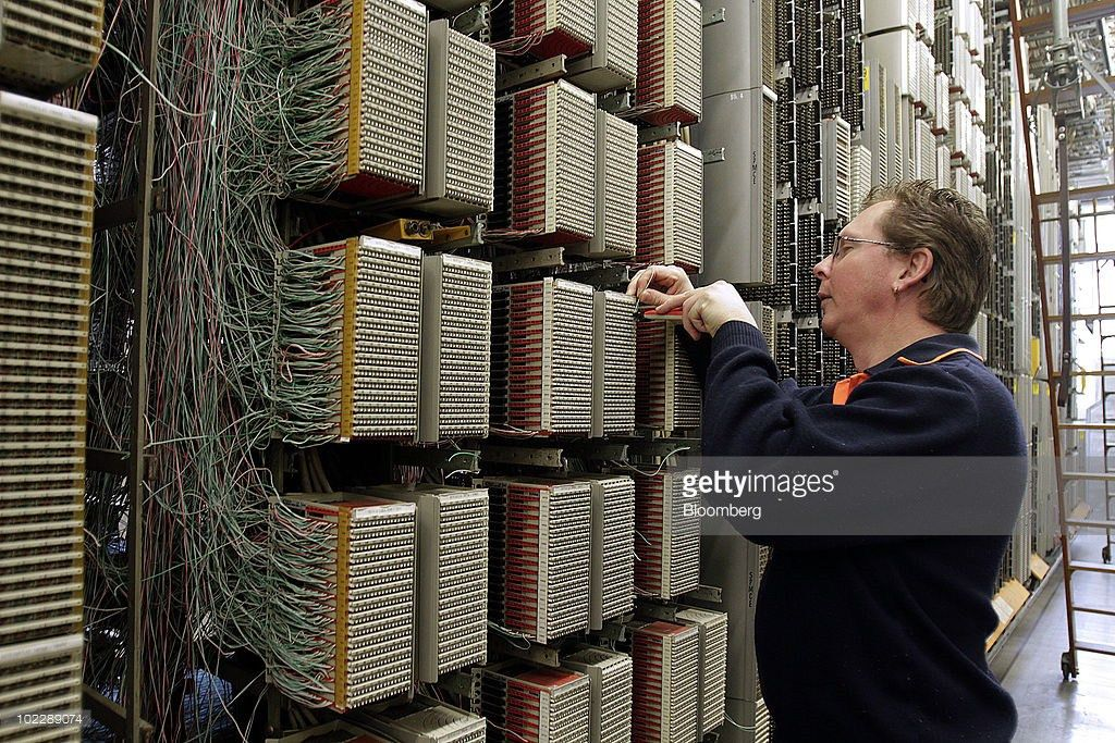 Telephone Exchange Center Stock Photos and Pictures | Getty Images