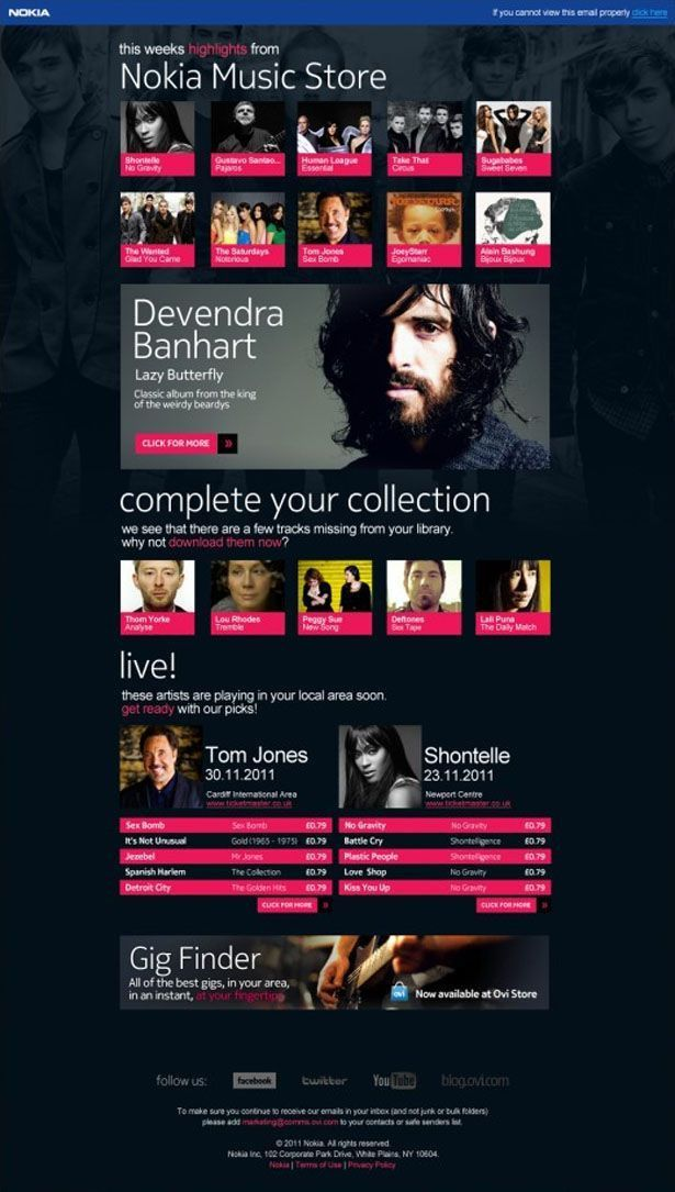 23 best Email Design images on Pinterest | Email newsletters ...