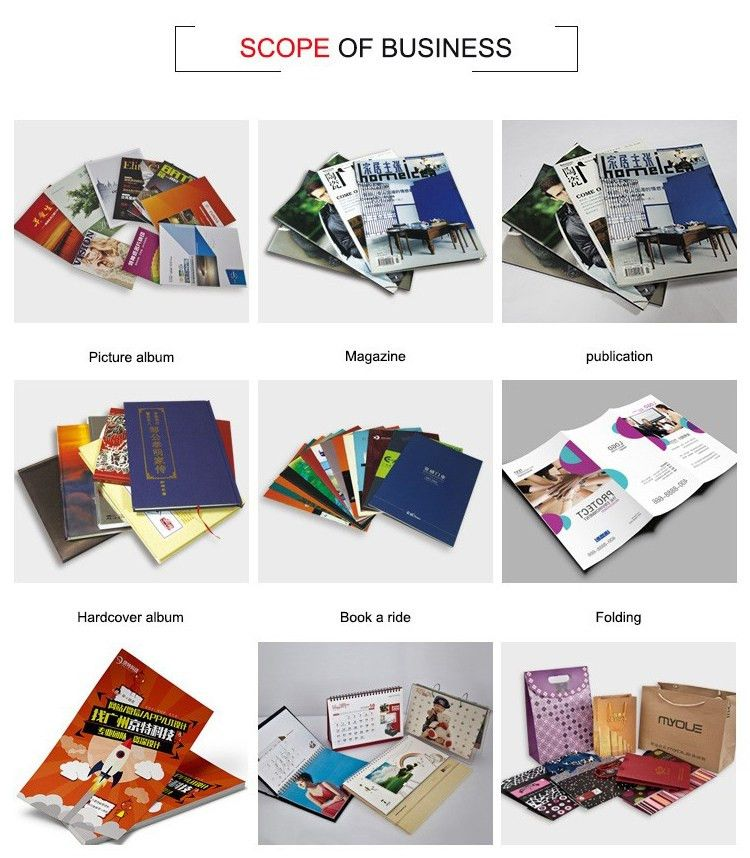 Soft Cover Book Printing High Quality Paperboard Custom Coupon ...