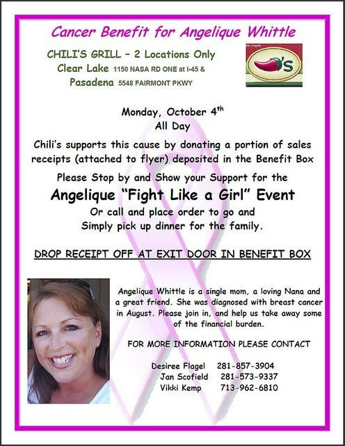 Cancer Fundraiser Flyer Images - Reverse Search