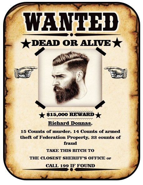 Wanted Poster Template | ebook