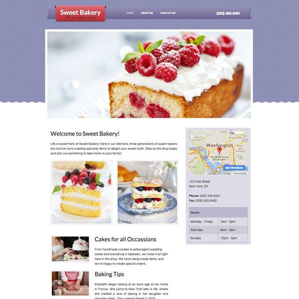 Sample Websites, Free Website Templates, & Themes   Webs