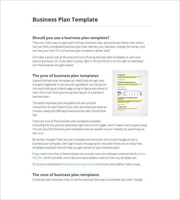 11+ Top Business Plan Maker, Tools & Software Free | Free ...