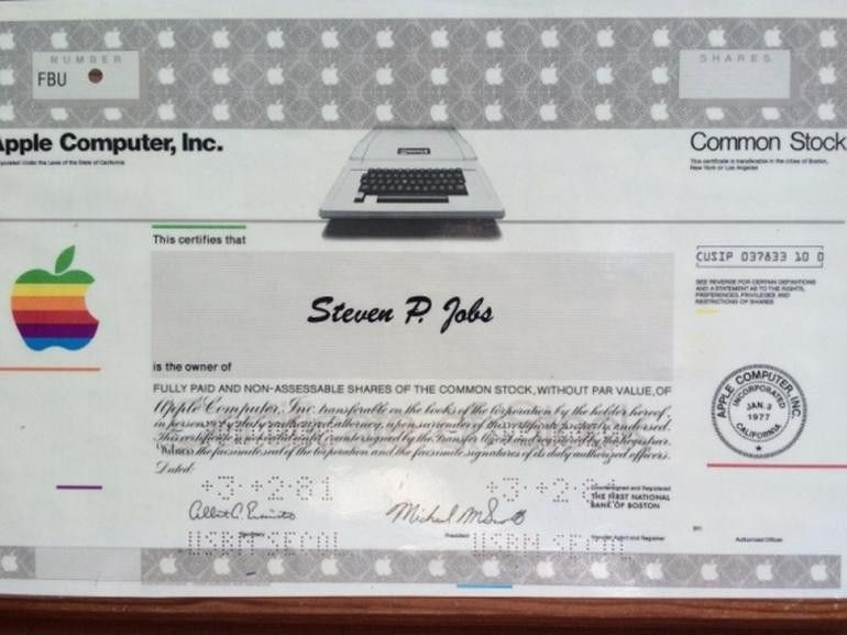 electronic share certificates - Hallo