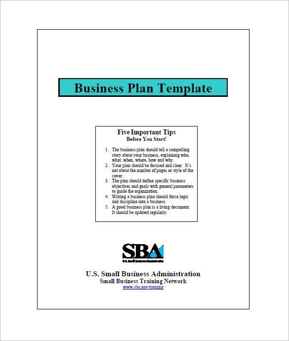 Small Business Plan Template – 7+ Free Sample, Example Format ...