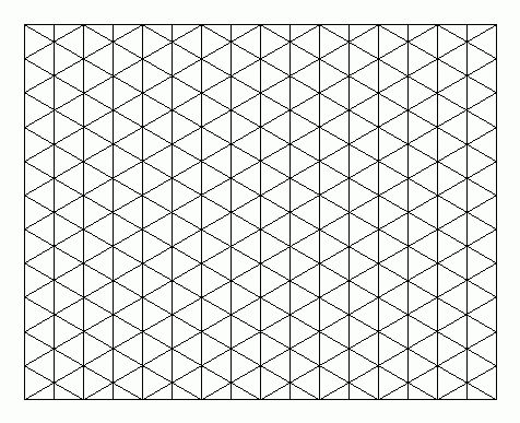 Drawing On Isometric Grid Paper | Engineering | Pinterest ...