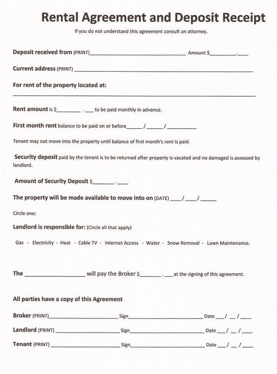 Lease Agreement Form Oklahoma | Create professional resumes online ...