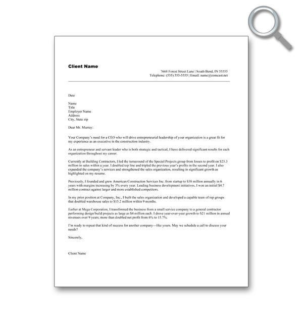 The 25+ best Free cover letter examples ideas on Pinterest | Free ...