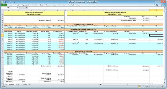 Accounting Bank Reconciliation Template | Create professional ...