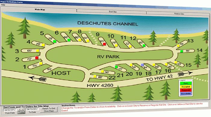 rv park campground software - Campground Manager