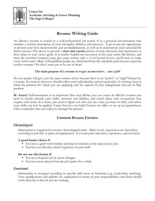 Academic Advisor Cover Letter - My Document Blog