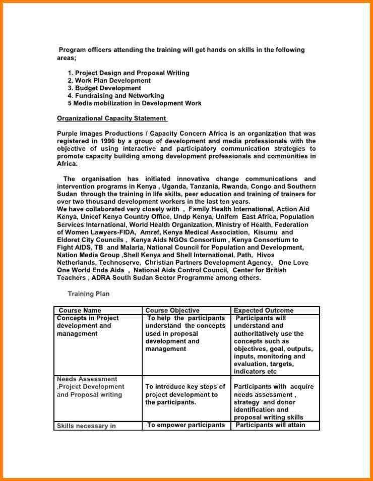 Fundraising Proposal Sample - cv01.billybullock.us
