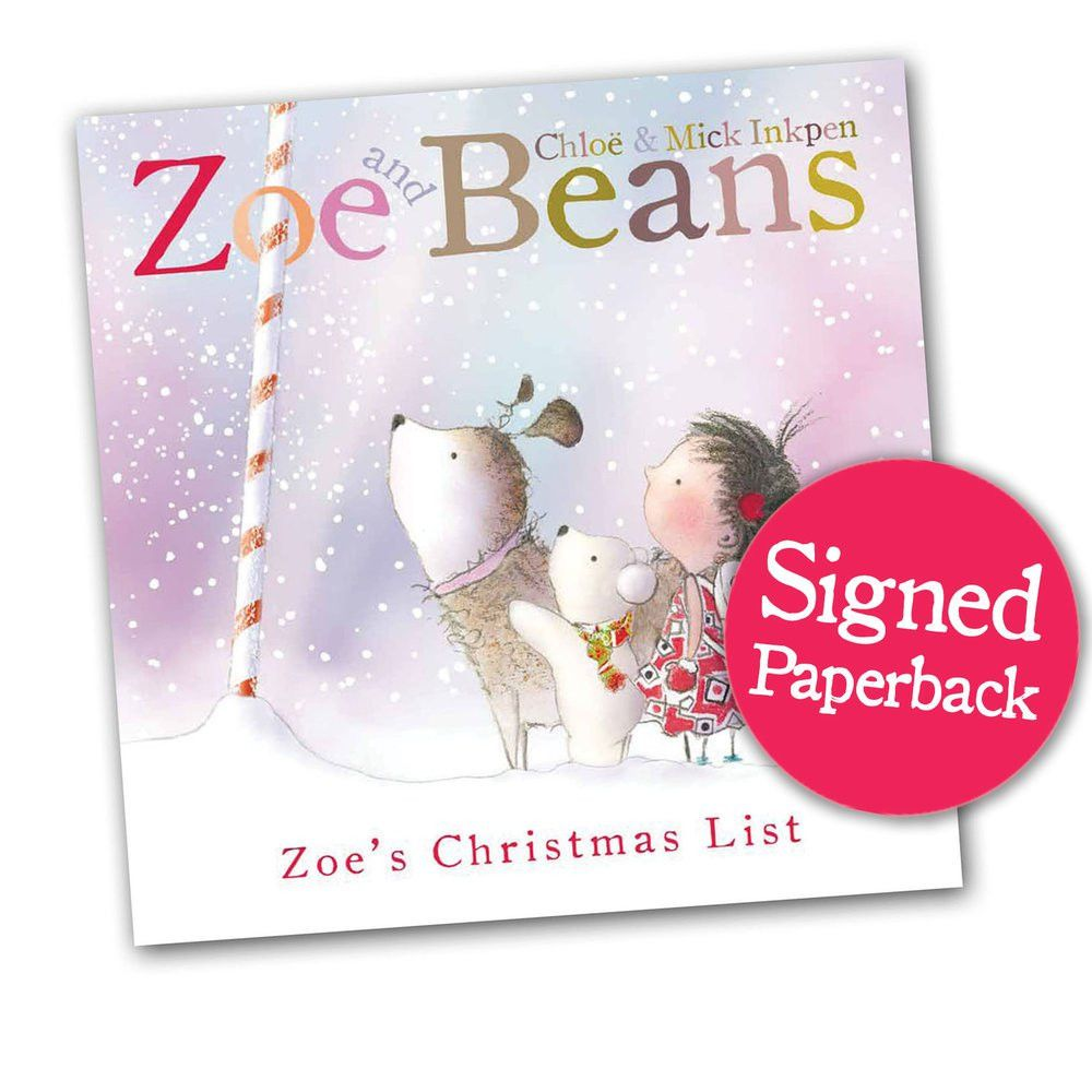 Signed PAPERBACK: Zoe's Christmas List — Chloë Inkpen