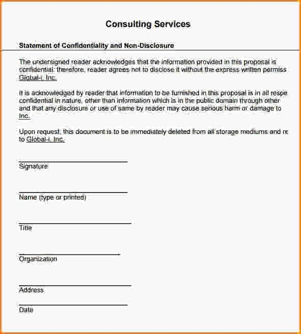 Service Proposal Template. Consulting Services Proposal Format ...