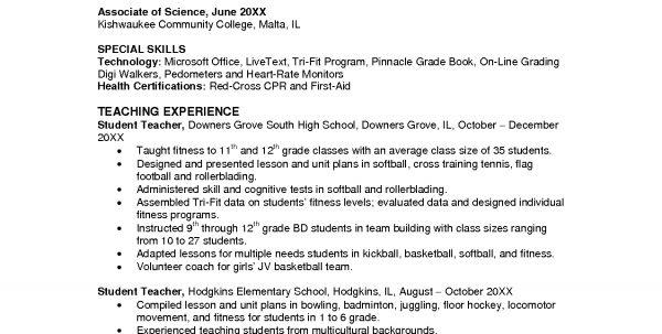 high school teacher resume education resume objectives template ...