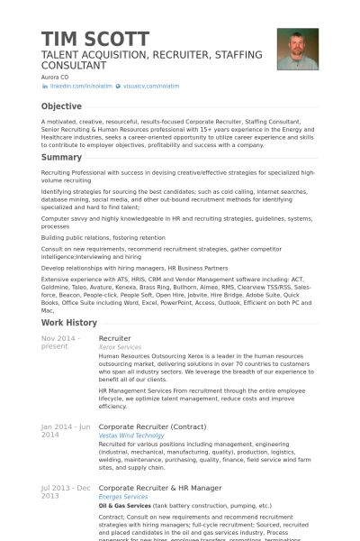 recruiter resume examples outsourcing recruiter resume sample volunteer recruiter resume - Recruiter Resume Template