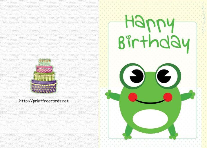 Printable Free Birthday Cards - Winclab.info