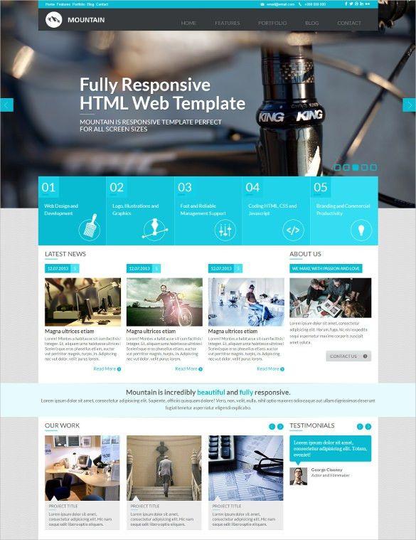 22+ Metro Style HTML5 Website Themes & Templates | Free & Premium ...