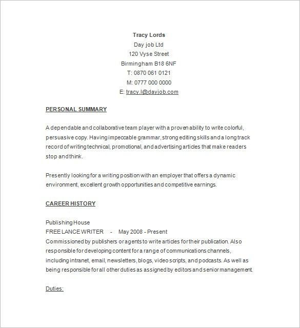 resume free sample free resume samples writing guides for all