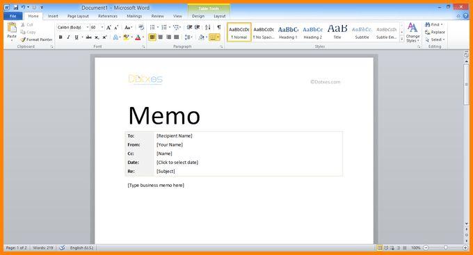 6+ microsoft word memo template | memo templates