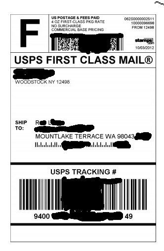 New USPS postage label format? - Amazon Seller Forums