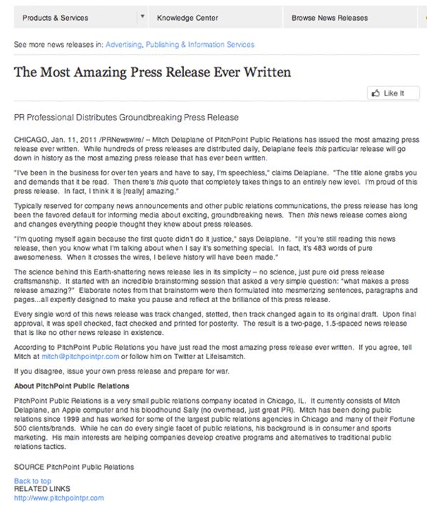 The 12 Ironclad Rules for Issuing Press Releases