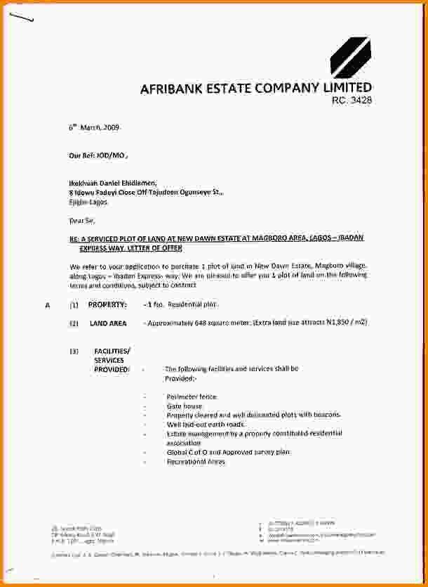Real Estate Offer Letter. Real Estate Cover Letter Samples - Real ...