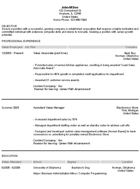 Resume Summary Examples Entry Level – Resume Examples