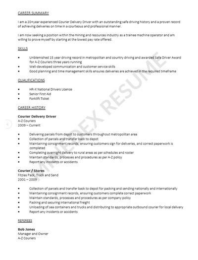 Resume Service - Make a great first impression when applying for ...