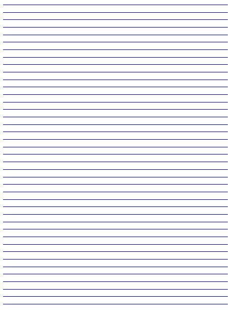 Lined Paper Free Printable | Printable Paper
