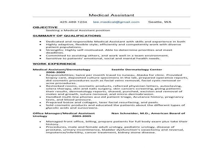 Sample Resume Summary Administrative Assistant. free blank resume ...