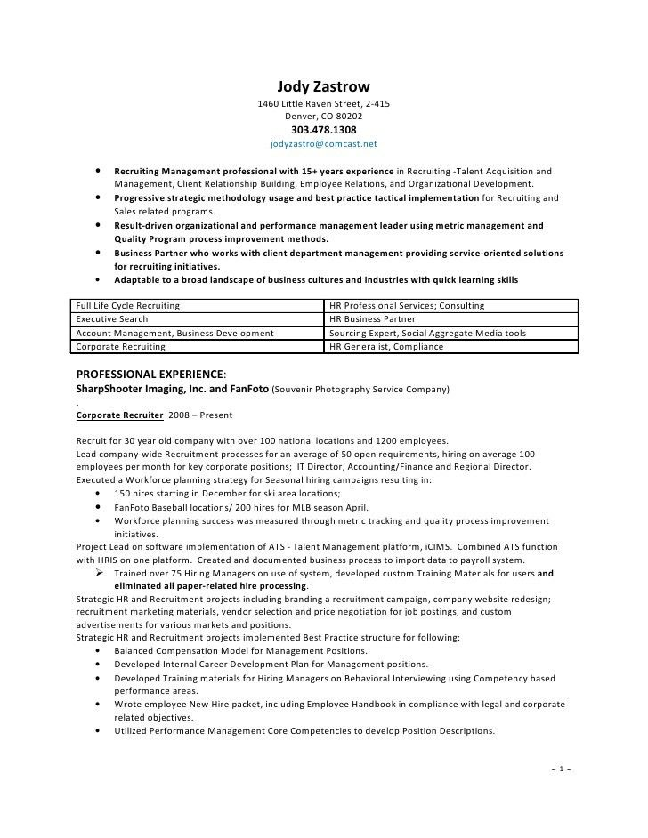 human resources generalist resume sample cover letter examples ...