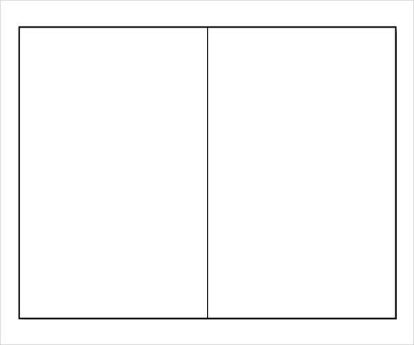 Blank Bi Fold Brochure Template – 11+ Free PSD, AI, Vector EPS ...
