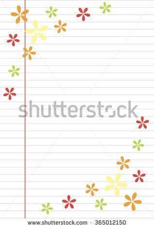 Vector Blank Letter Greeting Card Paper Stock Vector 363657158 ...