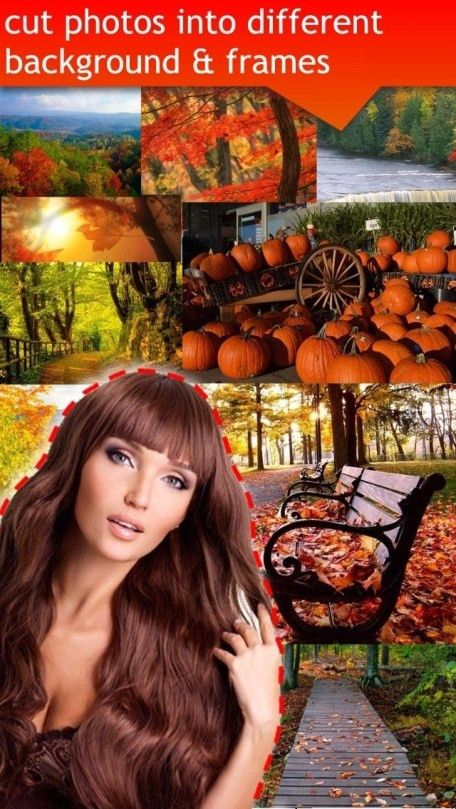 A Harvest Selfie Pic Booth - The Arty Photo Chop & Crop Background ...