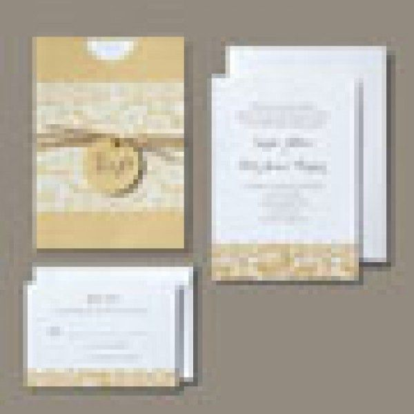 RUSTIC CHIC INVITATION 30CT | Gartner Studios
