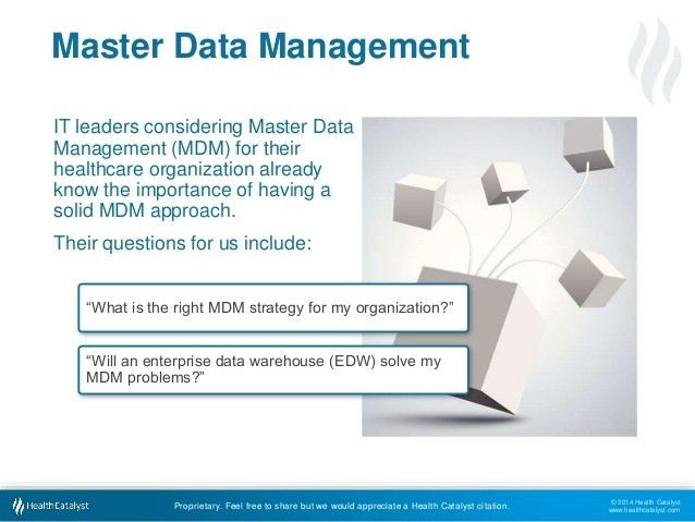 3 Approaches To Master Data Management In Healthcare: What's Best For…