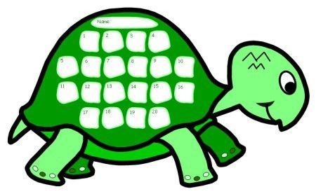 Turtle Sticker Charts: Look At The Progress We Are Making!