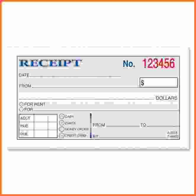 Rental Receipt Form.Rent Receipt Template.jpg - Sales Report Template