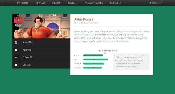 50+ Free Responsive HTML5 CSS3 Templates - CodeToUnlock