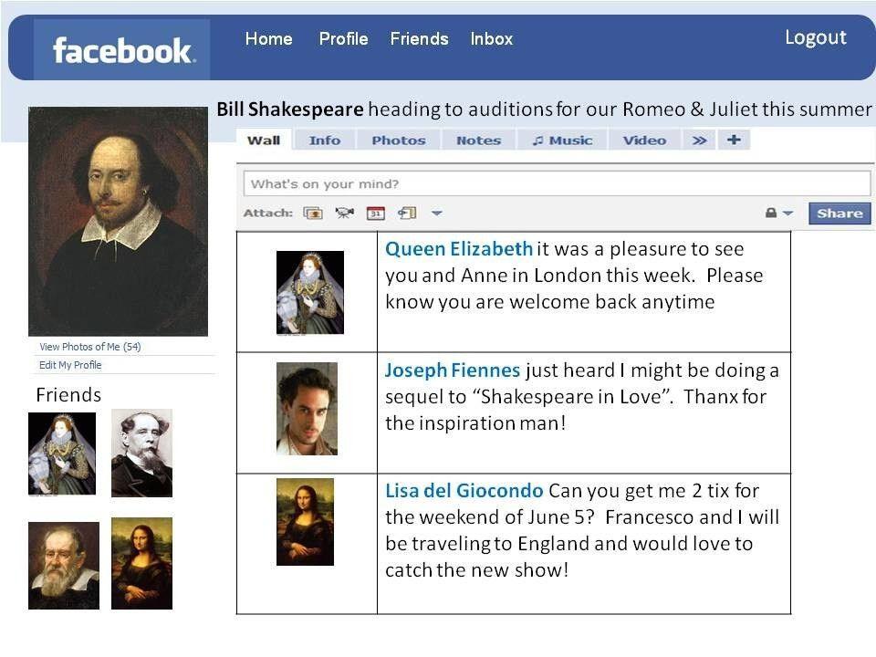 Facebook Profile Page Template - Contegri.com