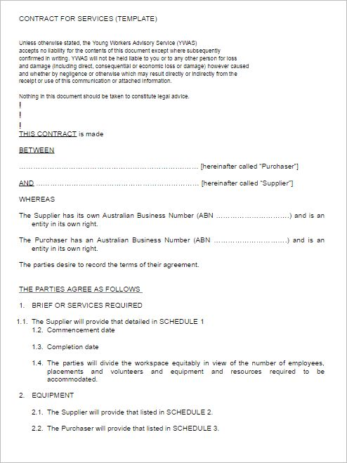 Service Agreement Templates || Free & Premium Templates | Creative ...