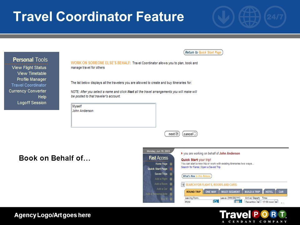 Agency Name Corporate Online Booking Technology The Future is NOW ...