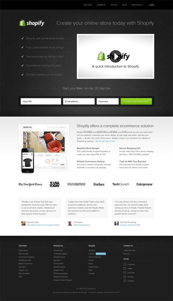 Landing Page Design Examples   Landing Page Conversion Course ...