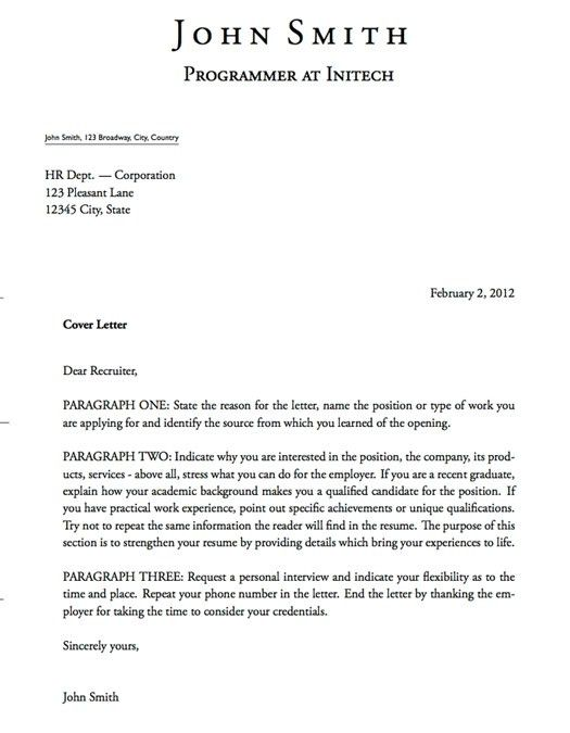 Sumptuous Design Ideas Google Cover Letter Template 16 Letter ...