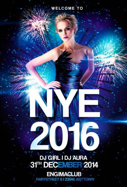New Years Eve Party Vol 1 Flyer | Awesomeflyer.com